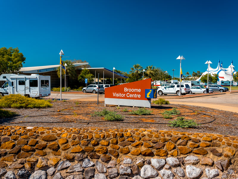 Broome art and visitor centre, Western Australia.
