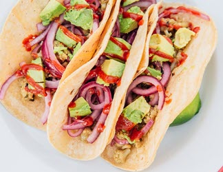 easy camping recipes – soft shell tacos