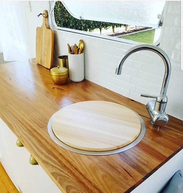 sink cover chopping board
