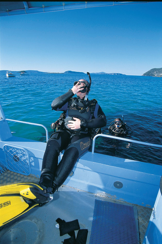 Take a scuba diving class at Albany, Western Australia.