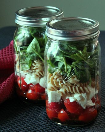 Healthy Road Trip Snacks – Mason Jar Recipes