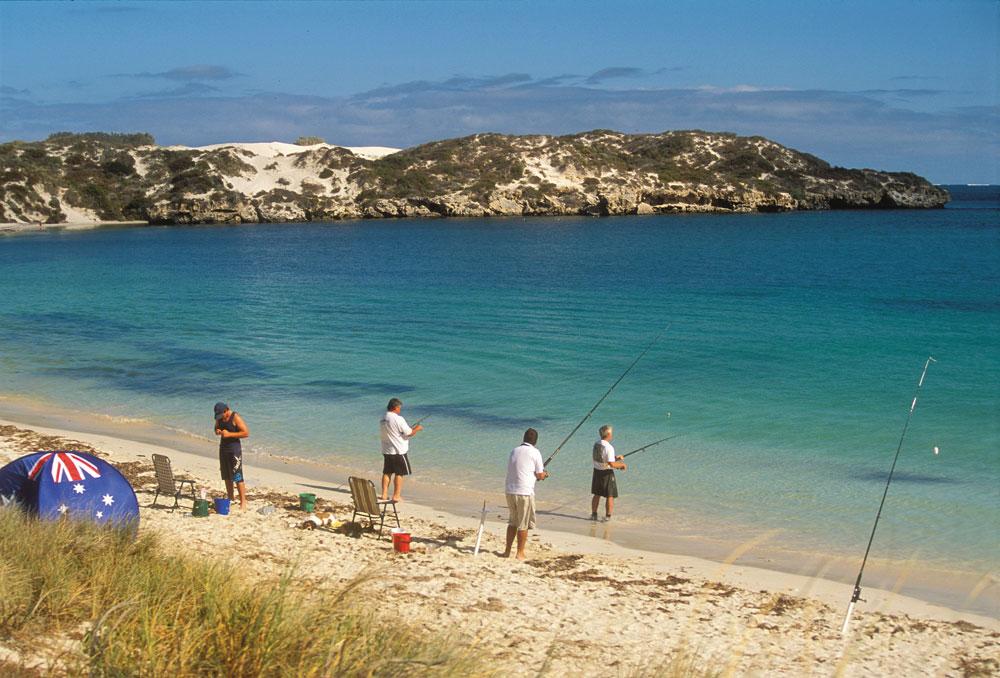 beach fishing jurien bay