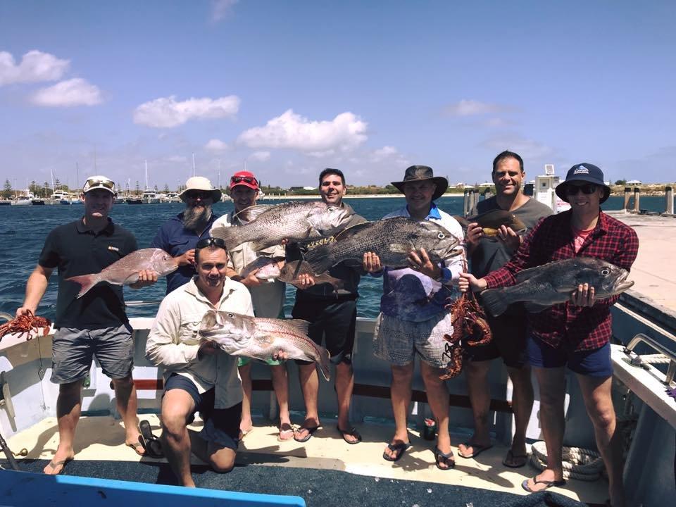 jurien bay group fishing charter