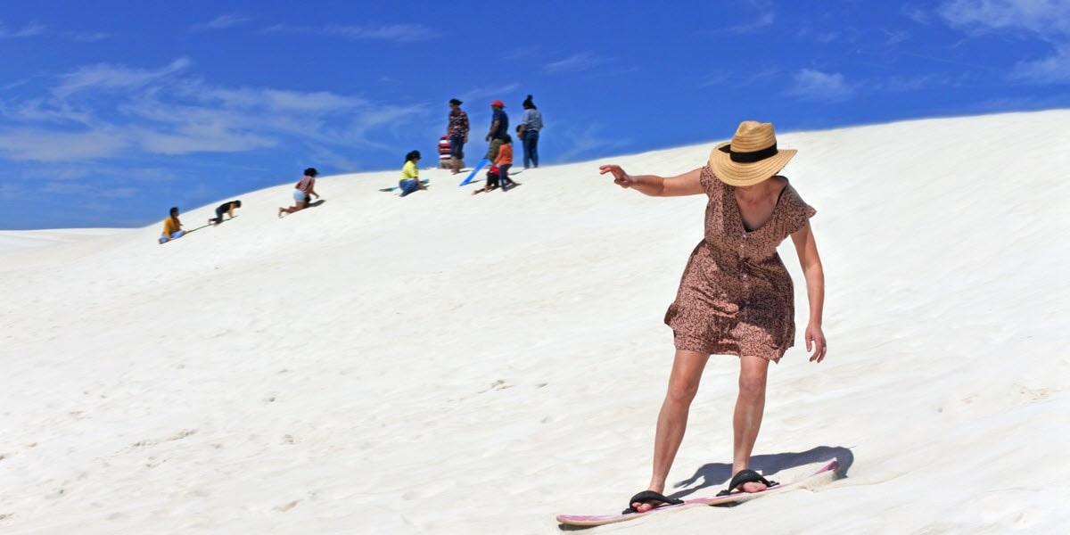sandboarding lancelin wa