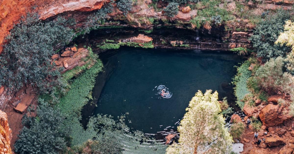 Dales gorge in Karijini National Park, Tom Price.