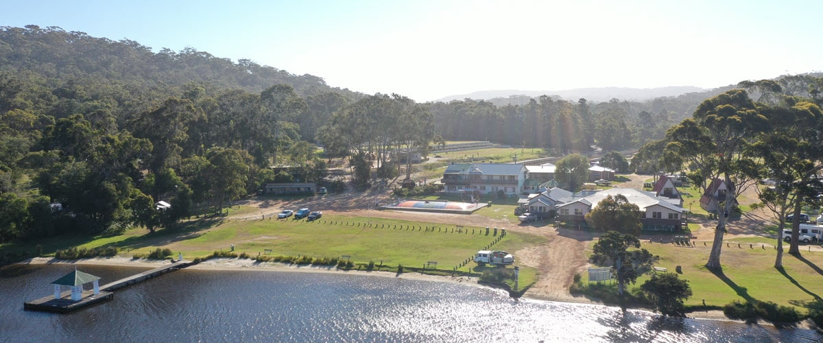 walpole rest point caravan park on walpole nornalup inlet