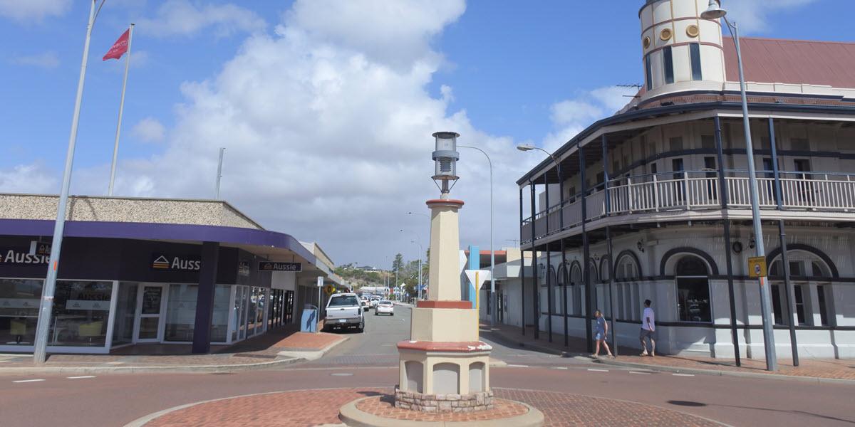 Geraldton weekend getaway in town centre, Western Australia.