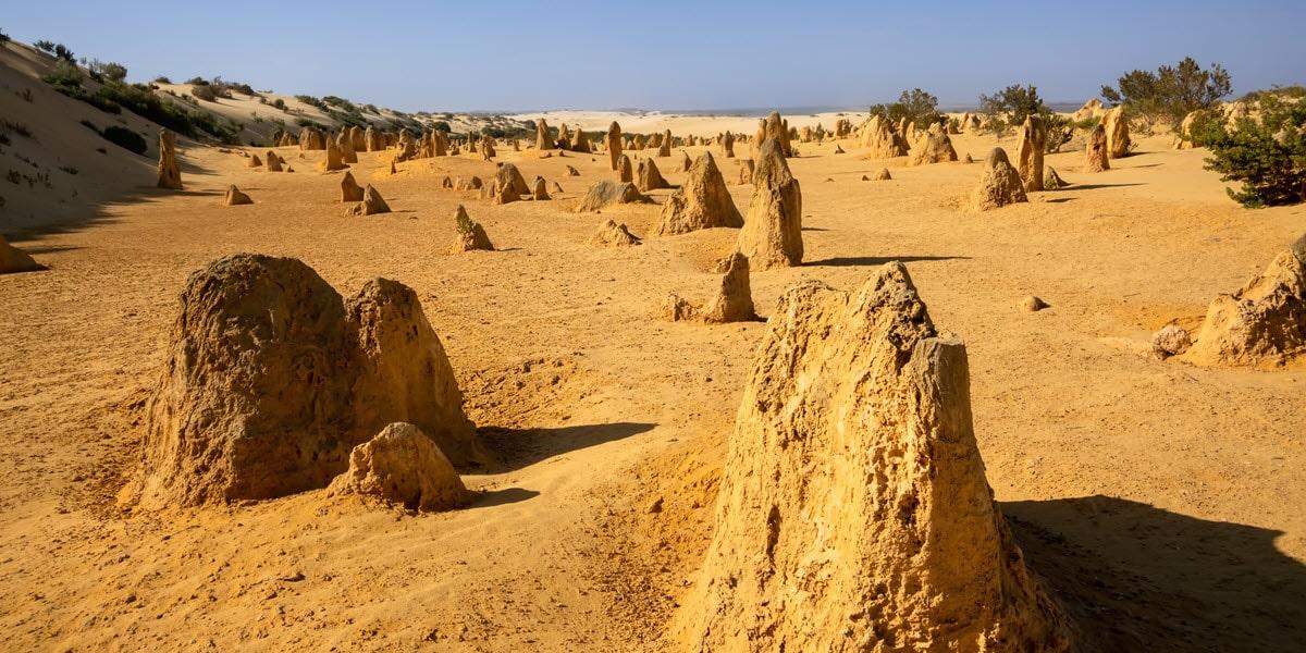 Pinnacles Desert in Cervantes, Jurien Bay.