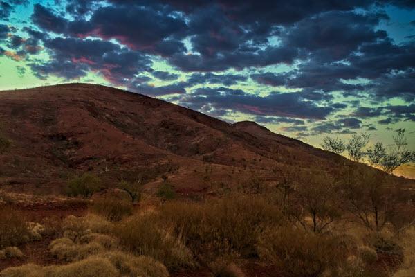 Tom Price Sunset - Western Australia