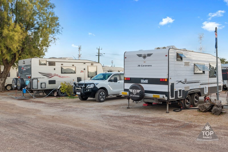jurien bay powered caravan sites