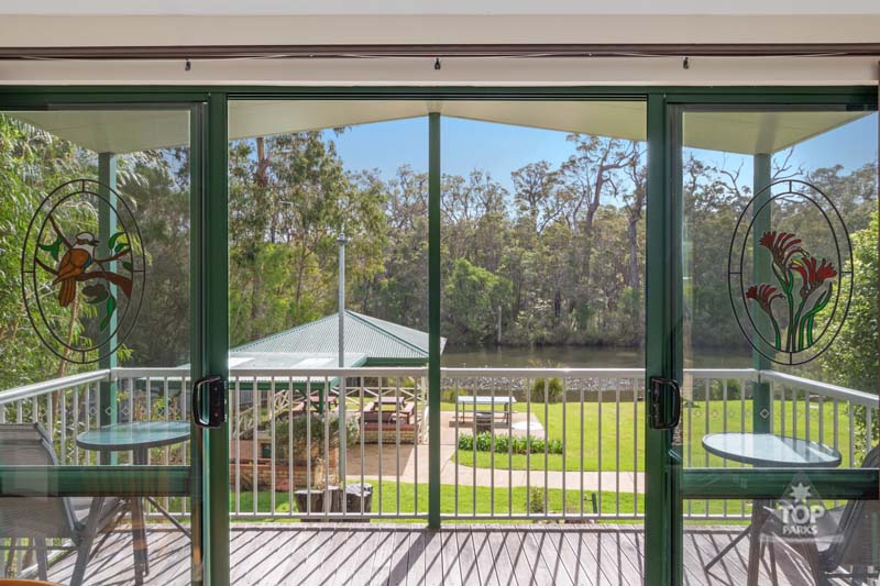 margaret river two bedroom waterfront holiday unit