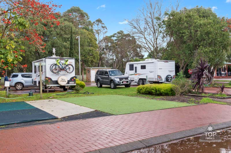 margaret river powered caravan and camping sites