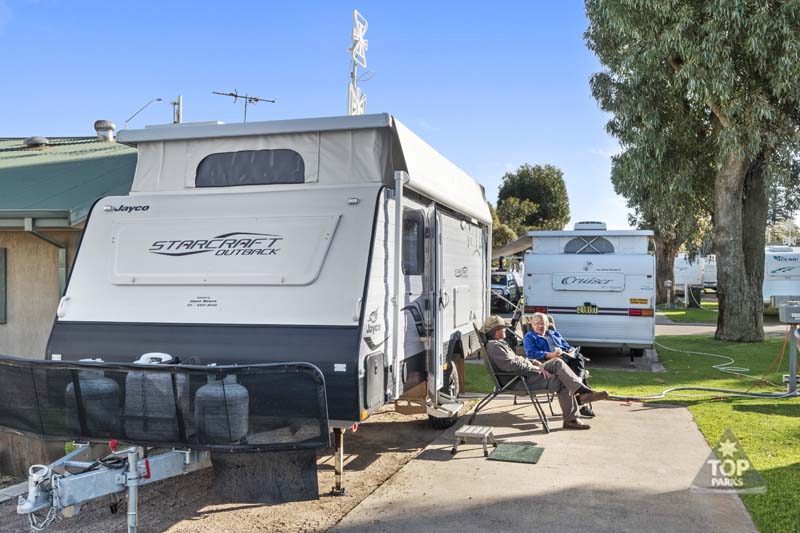 esperance powered caravan and camping sites