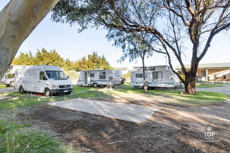geraldton powered caravan and camping site