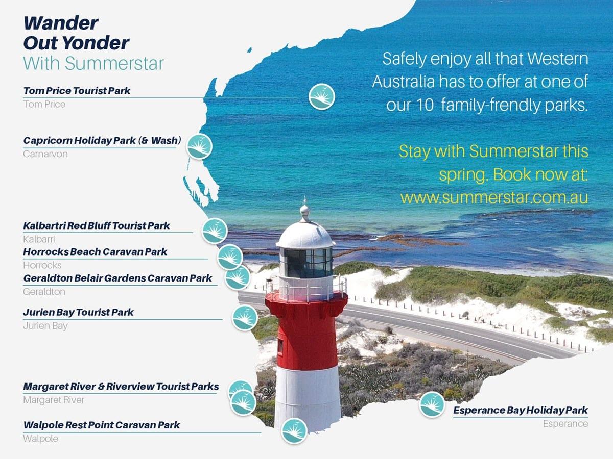 WanderOutYonder with Summerstar Tourist Parks