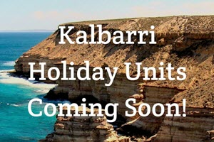 kalbarri one bedroom holiday units coming soon