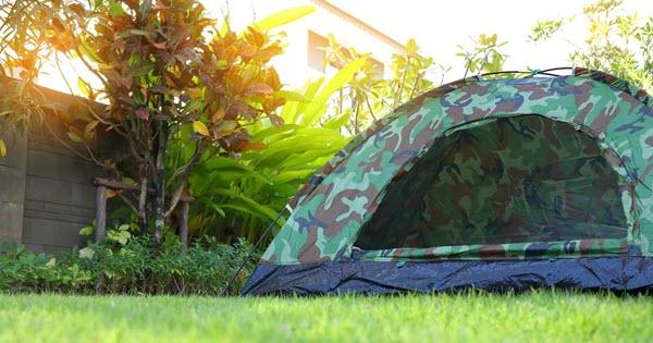 set up camping backyard western australia