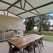 walpole campers kitchen near camping sites