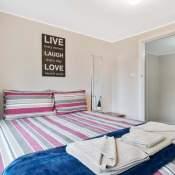walpole 3 bedroom cabin master bedroom