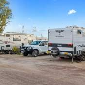 jurien bay caravan and camping sites set up