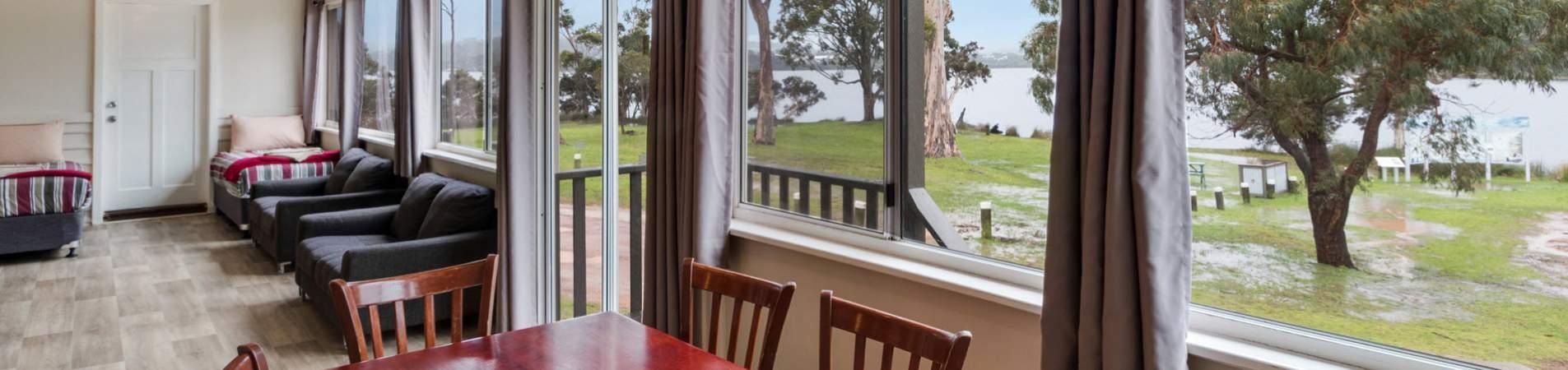 walpole rest point caravan park accommodation - banner 1