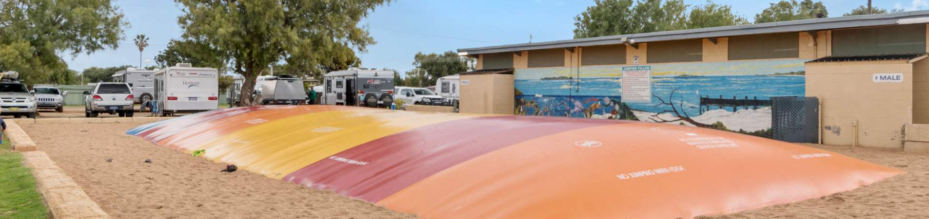 jurien bay tourist park facilities - banner 1
