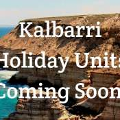 kalbarri one bedroom holiday units