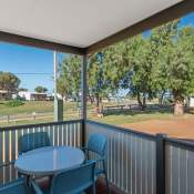 horrocks holiday unit patio