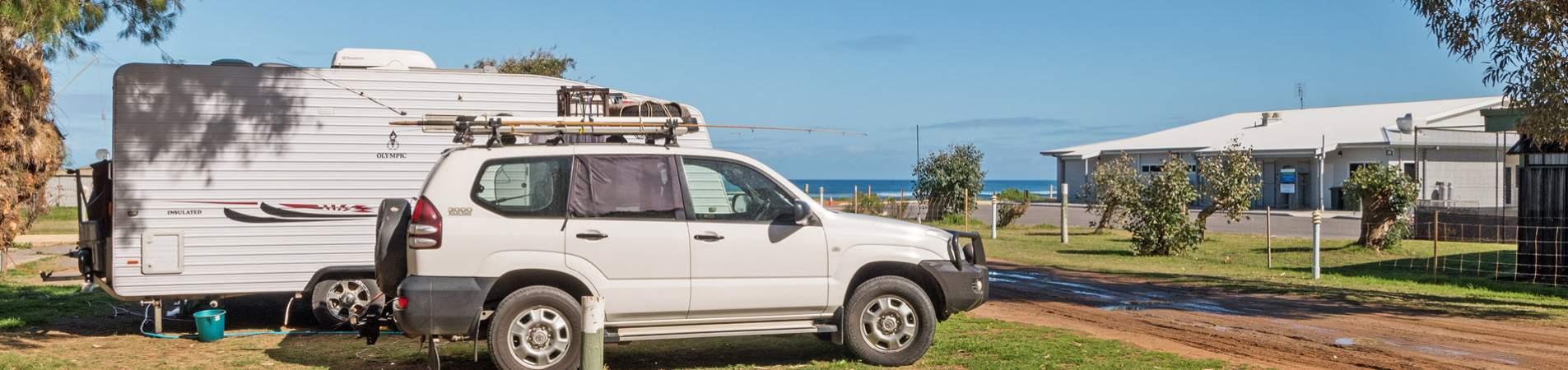 horrocks beach caravan park accommodation - banner 2