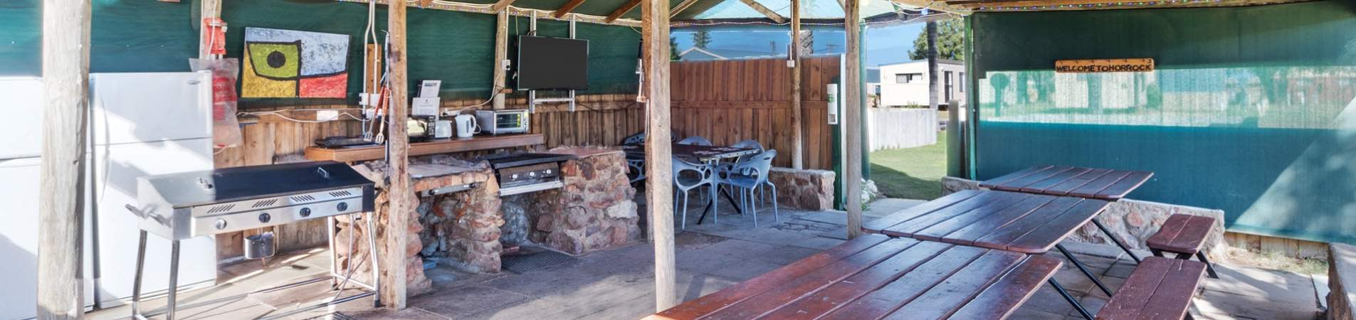horrocks beach caravan park facilities - banner 1